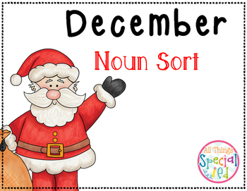 December Noun Sort