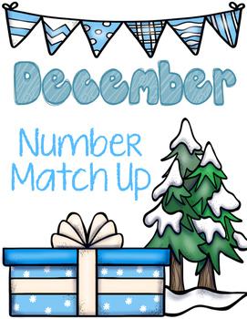 December Number Match Up