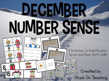 December Number Sense