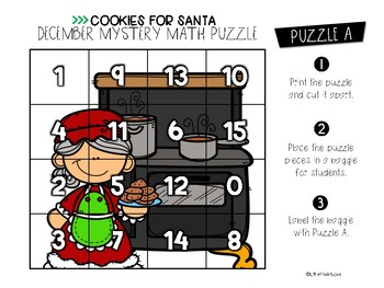 December Number Sense Puzzles