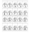 December Number Sequencing 1-20