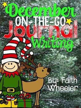 December On-The-Go Journal Writing