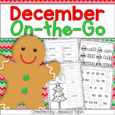Christmas Math and ELA Printables