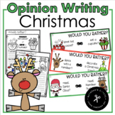 December Opinion Writing / Would you Rather?