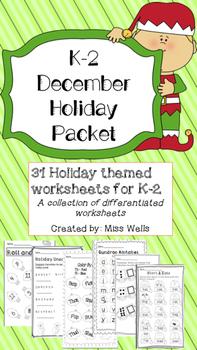 December Packet K-2