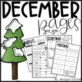December Pages 3-5