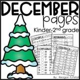 December Pages K-2