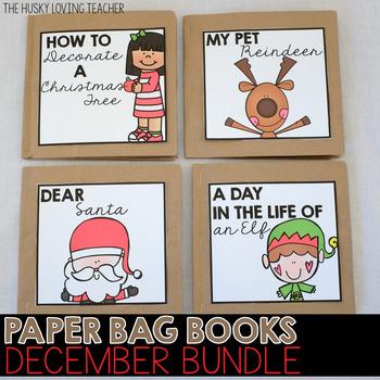 December Paper Bag Books BUNDLE