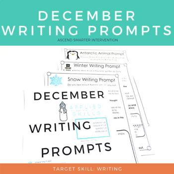 December Paragraph Writing - Graphic Organization Strategies