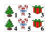 December Pattern Calender Pieces