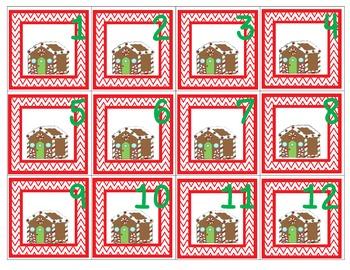 December Patterning Calendar Cards & Header (4 Sets!)