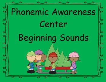 December Phonemic Awareness Center