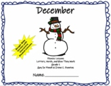 December Phonics Fountas and Pinnell Grade 1 Interactive G