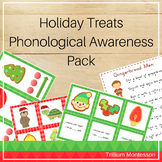 Holiday Treats Phonological Awareness Activities