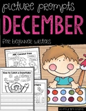 December Picture Writing Prompts for Beginning Writers