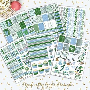December Planner Stickers Kit