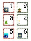 December Pocket Calendar Cards