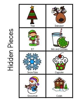 December Pocket Chart Activities