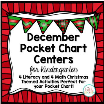 December Pocket Chart Centers