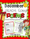 December Poems for Building Reading Fluency & Writing Stam