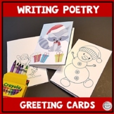 Writing Poetry December Poetry with Greeting Cards