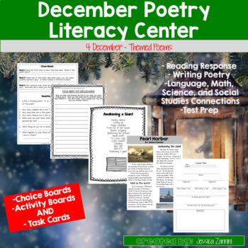 December Poetry Literacy Center