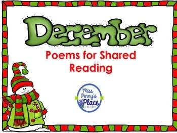 December Poetry/Shared Reading