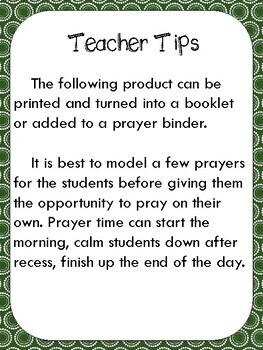 December Prayer Journal