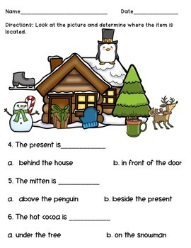 December Prepositional Pack