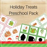 Holiday Treats Preschool Pack