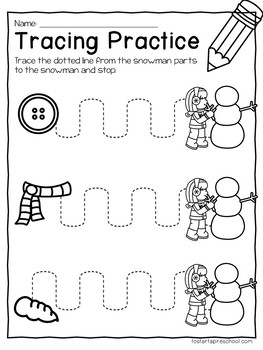 December Preschool Packet