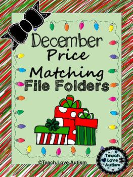December Price Matching File Folders