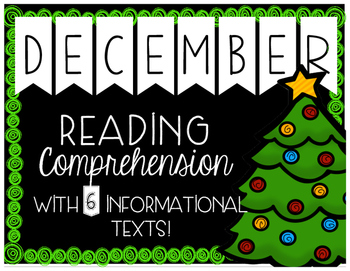 December Primary Informational (Non-Fiction) Text Pack {#TeacherMom}