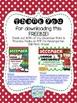 December Print & Practice FREEBIE!