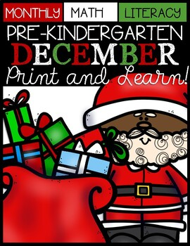December Print and Learn (Christmas)