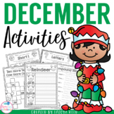 Christmas Activities First Grade