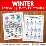 No Prep Winter Activities Kindergarten
