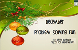 December Problem Solving for the Promethean Board