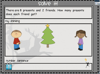 December Problem Solving for the Promethean Board