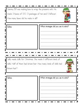 December Problem Solving (word problems)