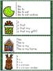 December Progressive Fluency Cards