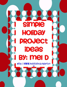 December Project Freebies