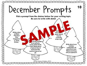 December Prompts (40 Writing Prompts/Discussion Starters)