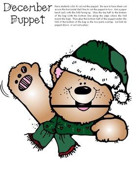 December Puppets Craft