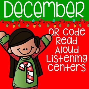 December QR Code Read Aloud Listening Centers