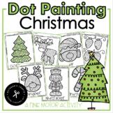 Q-Tip Painting December (Christmas) / Fine Motor Activity