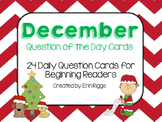 December Question of the Day Cards