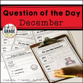 December - Question of the Day Graphing
