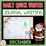 December Quick Writes (Daily Journal Writing Prompts)