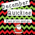 December Print and Go